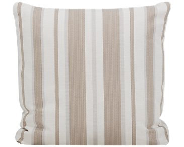 Chad Light Brown Fabric Square Accent Pillow