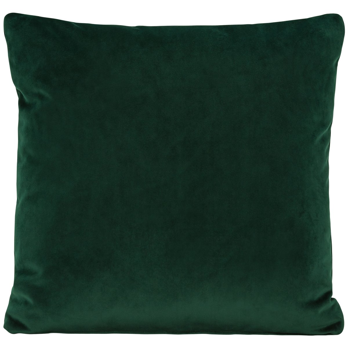 Royale Dark Green Fabric Square Accent Pillow