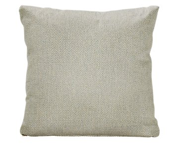 Avery Light Green Fabric Square Accent Pillow