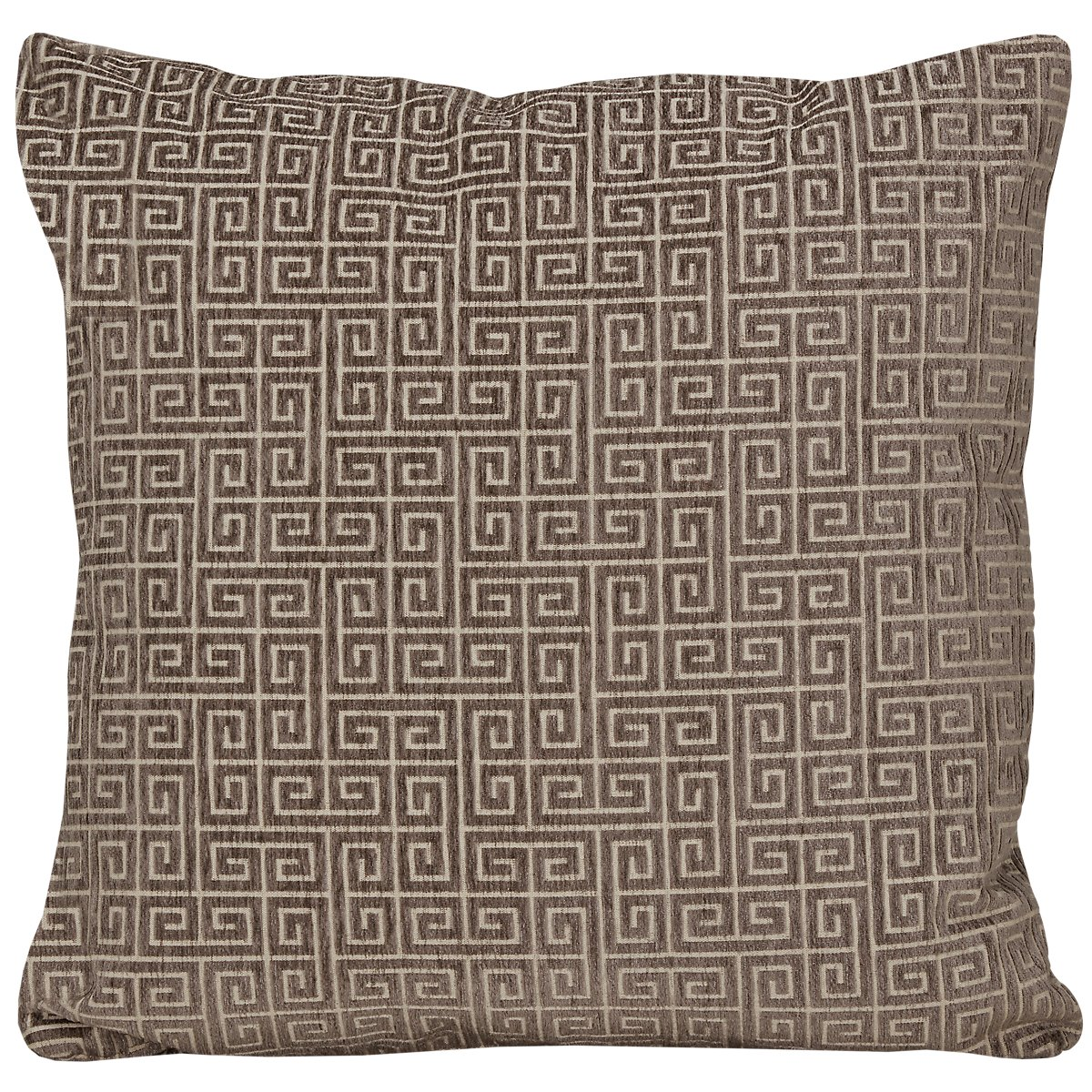 Keys Gray Fabric Square Accent Pillow