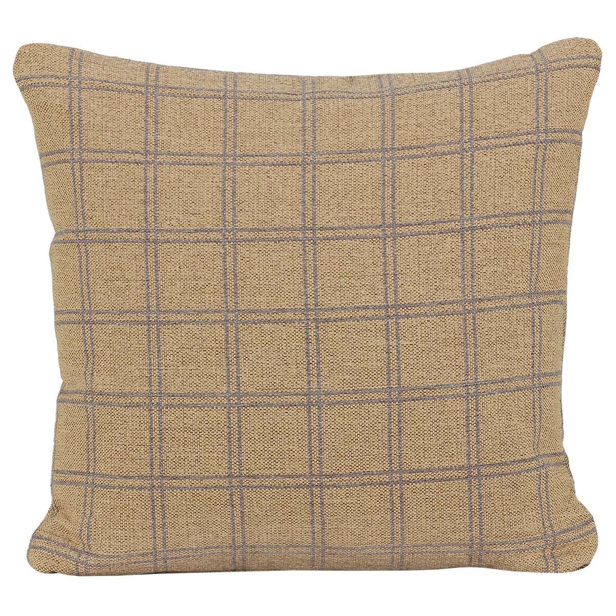 Wise Yellow Fabric Accent Pillow