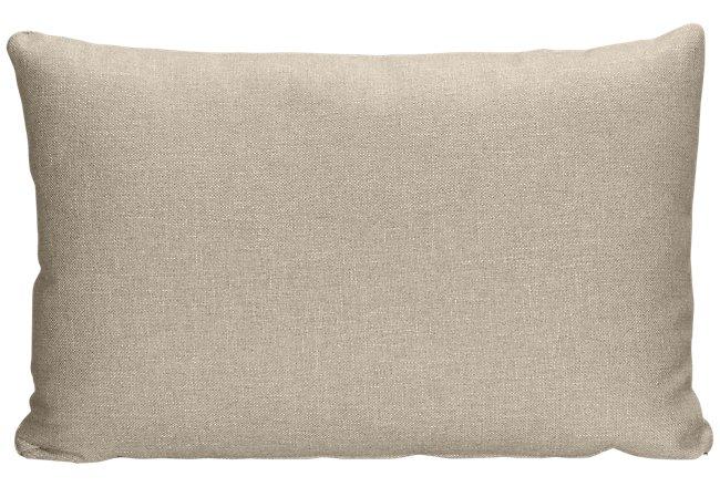 Harper Khaki Fabric Rectangular Accent Pillow