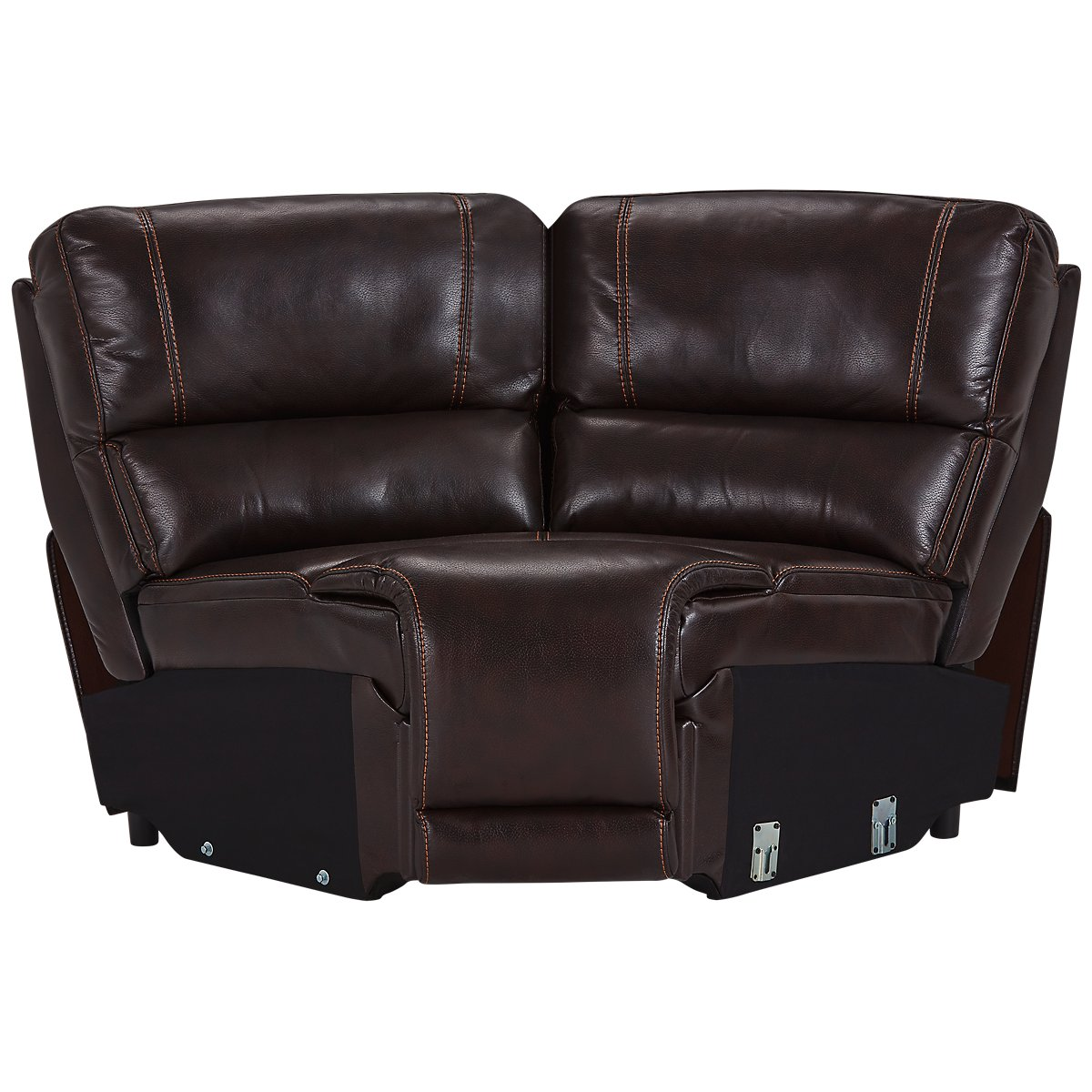 Sectional Couch Hattiesburg Ms: City Furniture: Bailey Dark Brown Microfiber Small Triple
