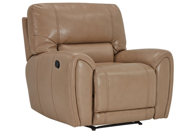 Bailey Taupe Microfiber Recliner