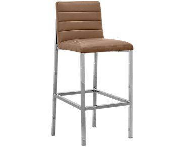 "Amalfi Brown Upholstered 30"" Barstool"