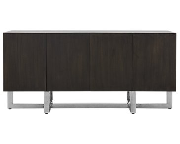 Amalfi Wood Dark Tone Server Top