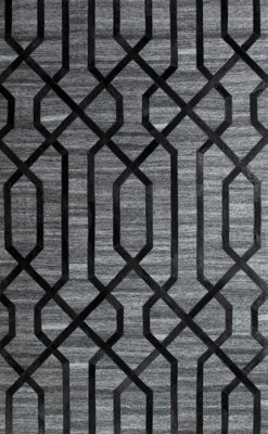 alloy black 8x10 area rug