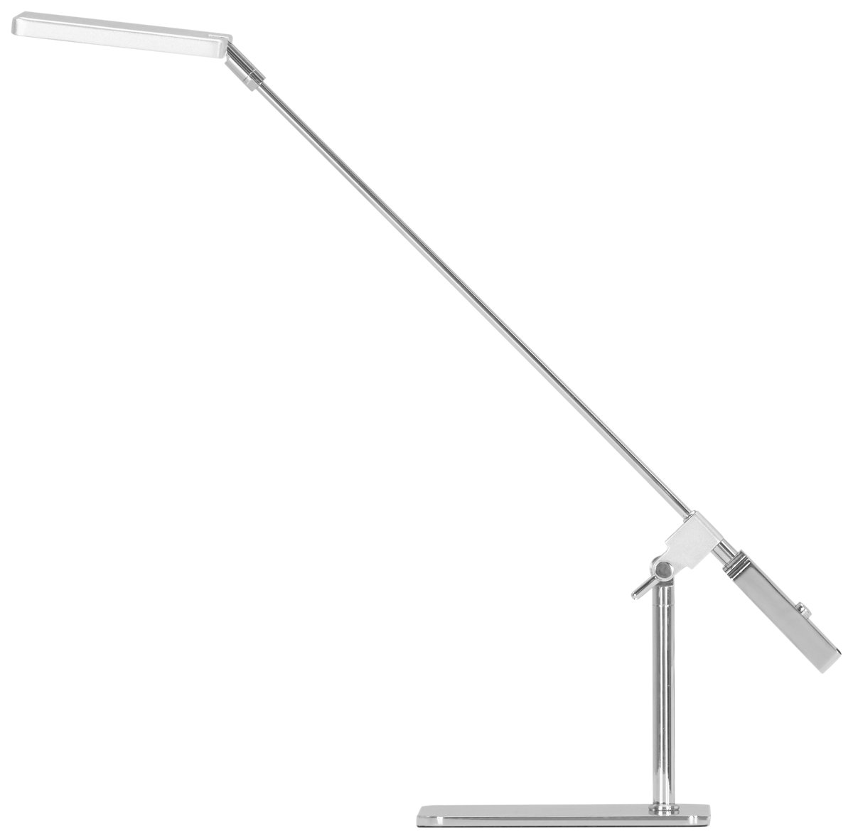 Pax Silver Table Lamp