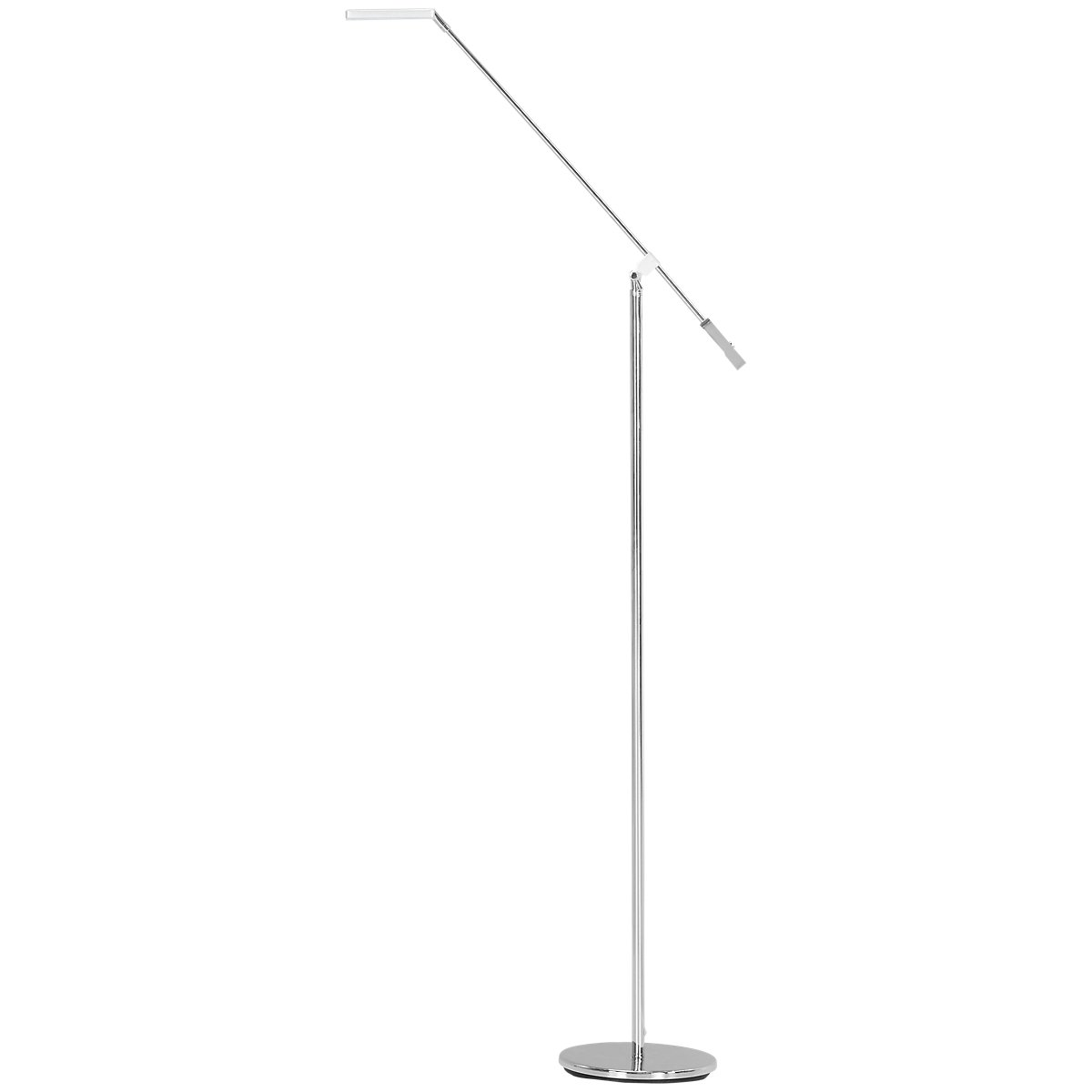 Pax Silver Floor Lamp