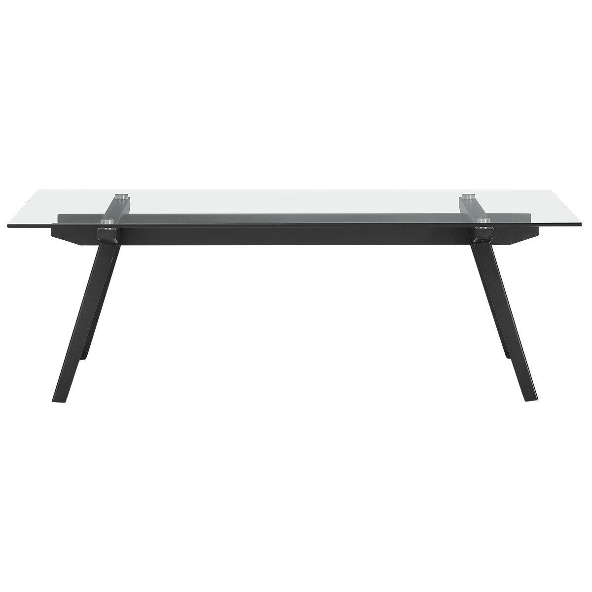 Miles Glass Rectangular Coffee Table
