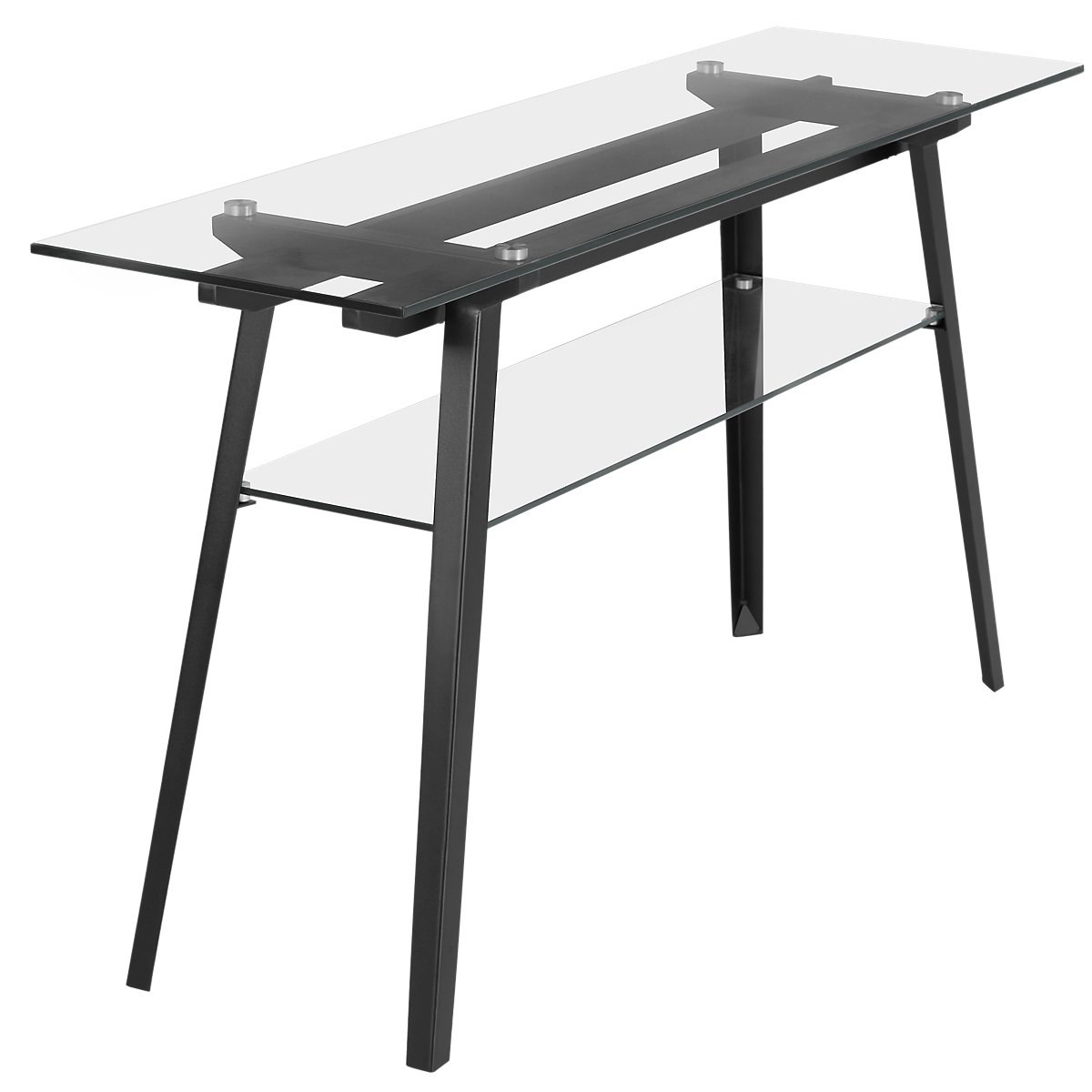 City Furniture Miles Glass Sofa Table