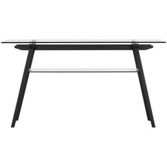 Miles Glass Sofa Table