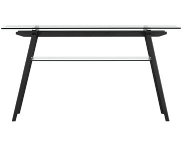 Miles Glass Sofa Table