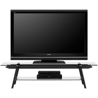 "Miles Glass 63"" TV Stand"