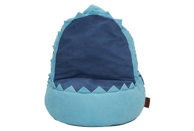 Shark Blue Bean Bag