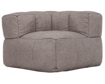 Modular Dark Gray Corner Chair