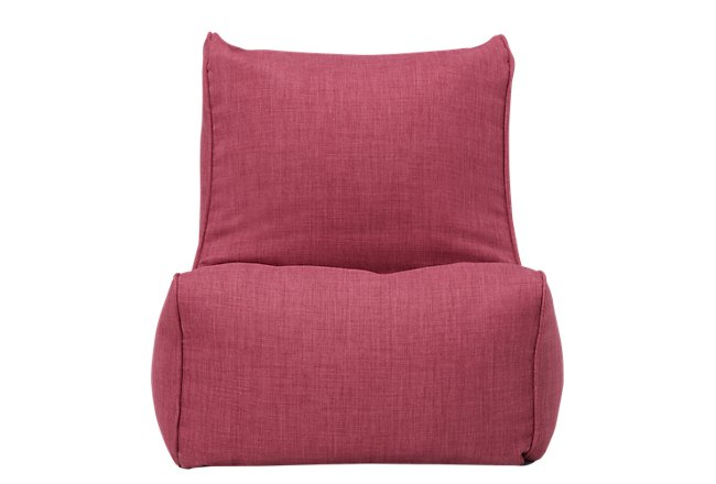 Alesia Pink Armless Chair