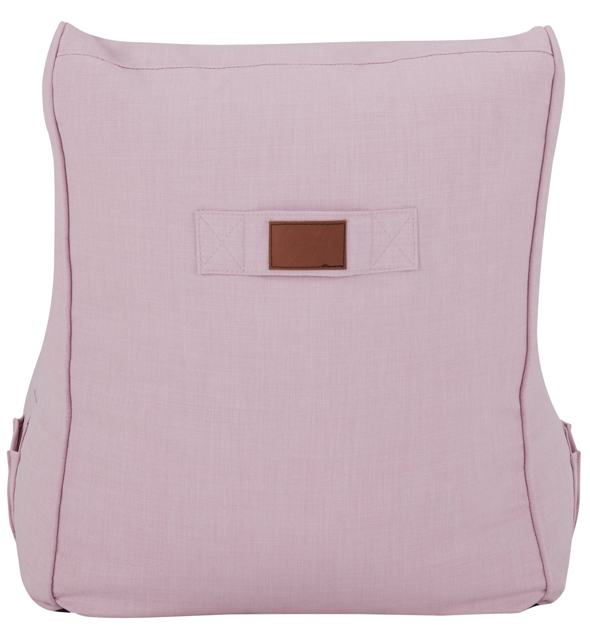 Alesia Light Pink Armless Chair