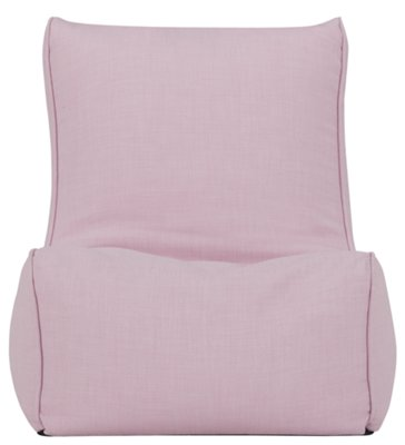 Perfect Alesia Light Pink Armless Chair