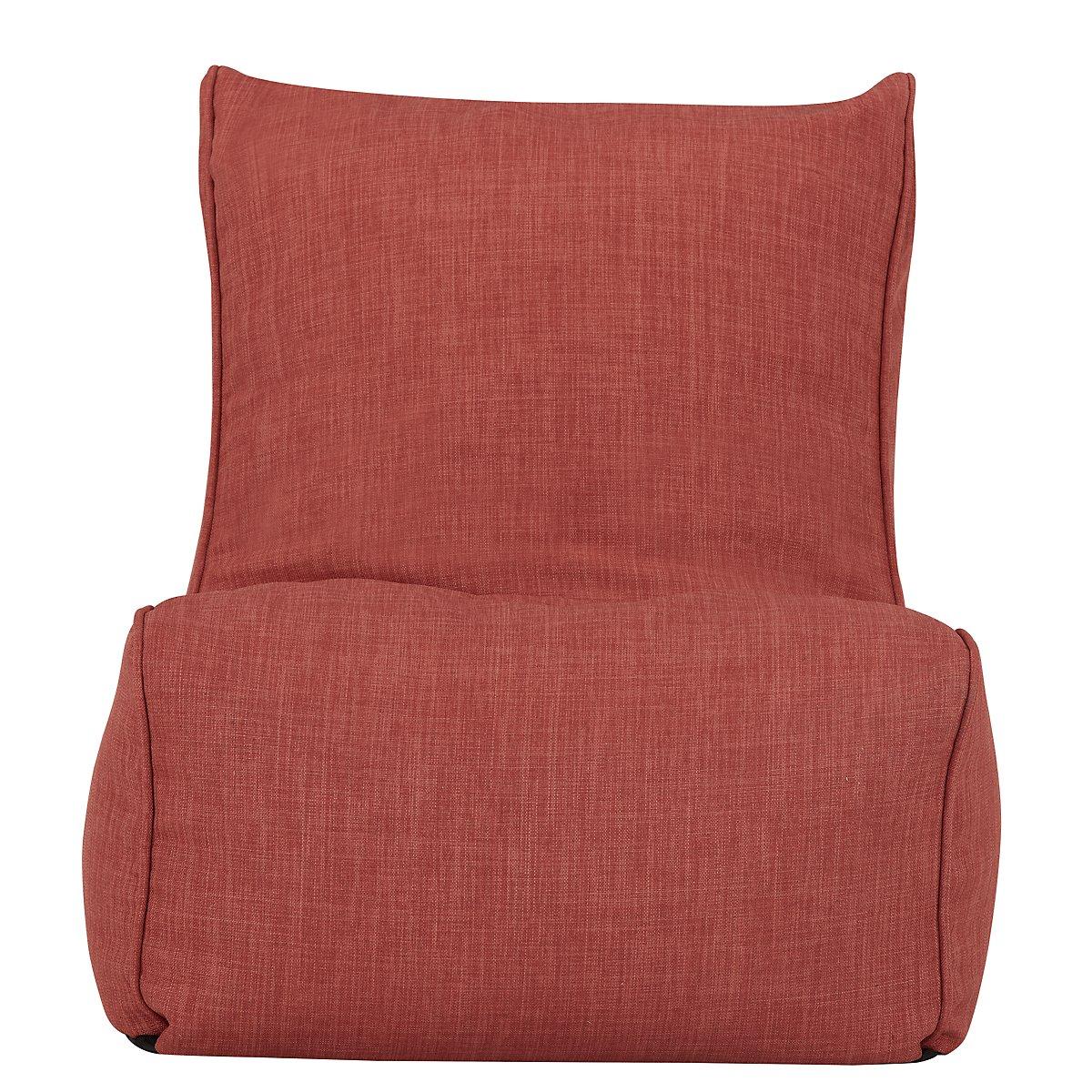Alesia Dark Orange Armless Chair