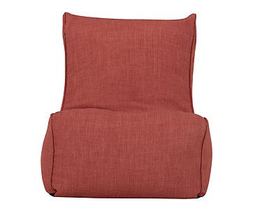 Alesia Dark Orange Armless Chair