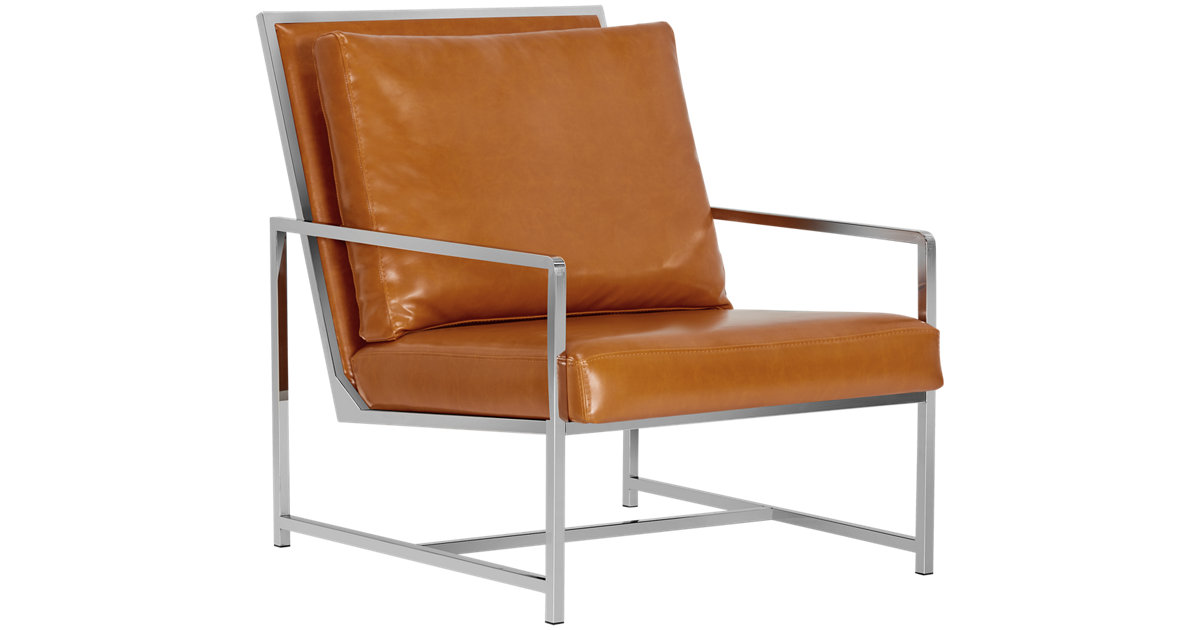 City Furniture Harvey Medium Brown Upholstered Accent Chair