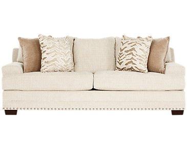Grenada Beige Fabric Sofa