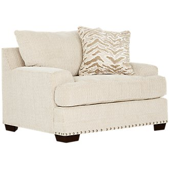Grenada Beige Fabric Chair