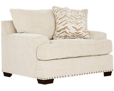 Grenada Beige Fabric Chair