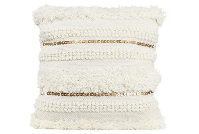 Ward Multicolored Wool Accent Pillow