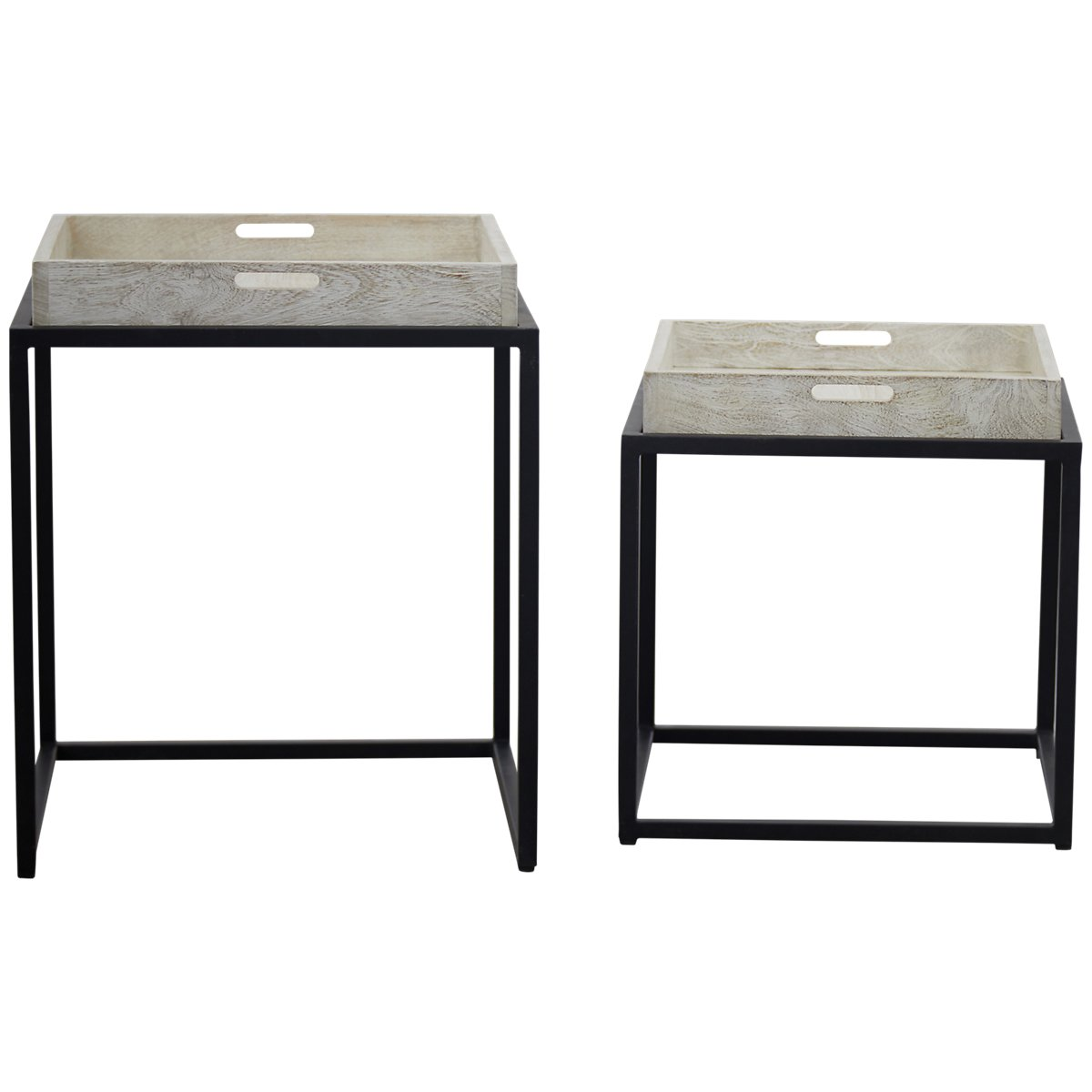 City furniture rei light tone set of 2 nesting tables rei light tone set of 2 nesting tables watchthetrailerfo