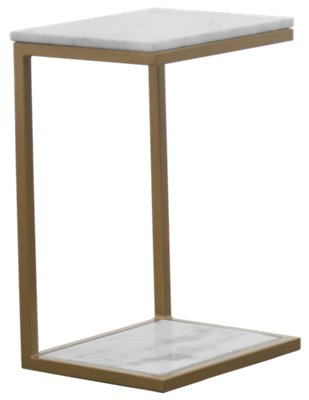 Kaia Marble Accent Table