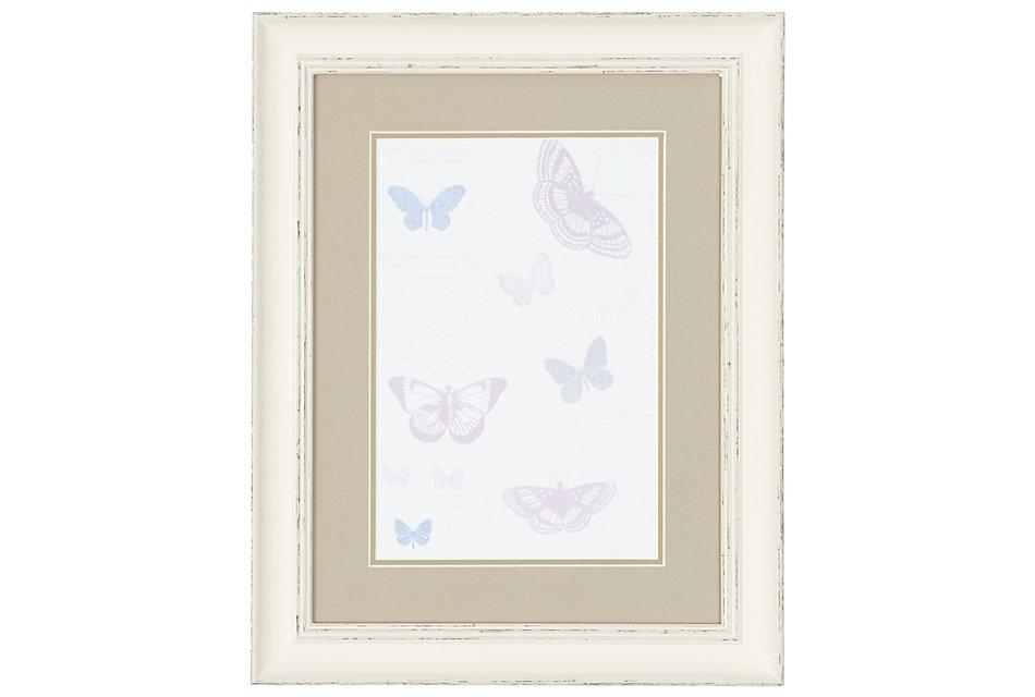 Butterfly Multicolored   Framed Wall Art