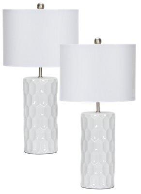 Cass Ceramic Set Of 2 Table Lamp