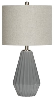 Yara Silver Set Of 2 Table L&  sc 1 st  City Furniture : set of 2 table lamps - pezcame.com