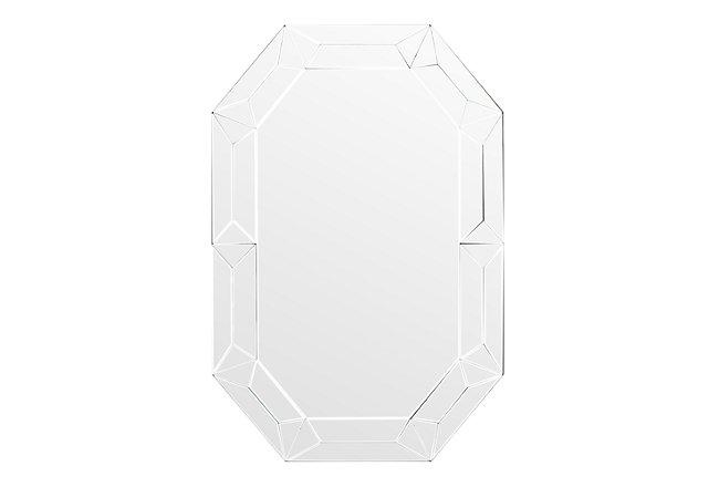 Jewel Silver Mirrored Mirror