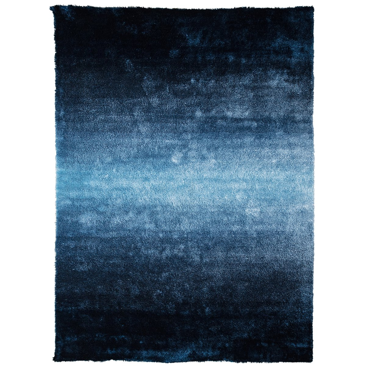 Ombre Blue 8x11 Area Rug