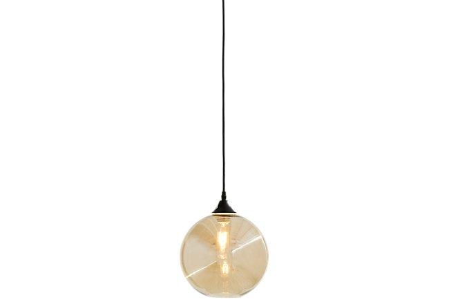 Drops Bronze Glass Pendant