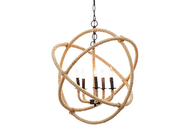 Orb Bronze Chandelier