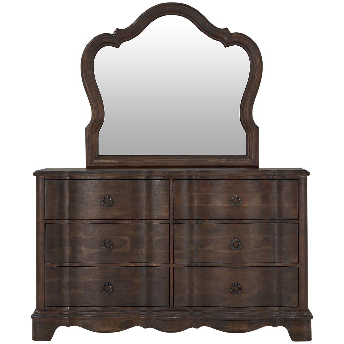 Parliament Light Tone Dresser & Mirror