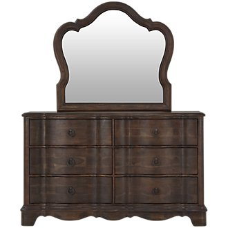 Parliament Light Tone Dresser & Mirror