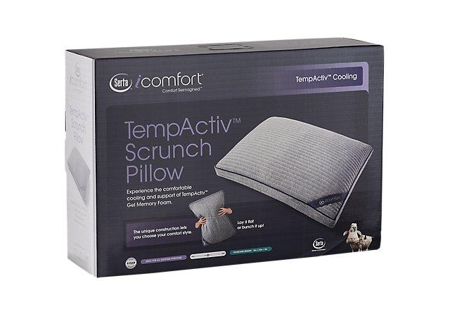 Serta iComfort TempActiv Scrunch Gel Pillow