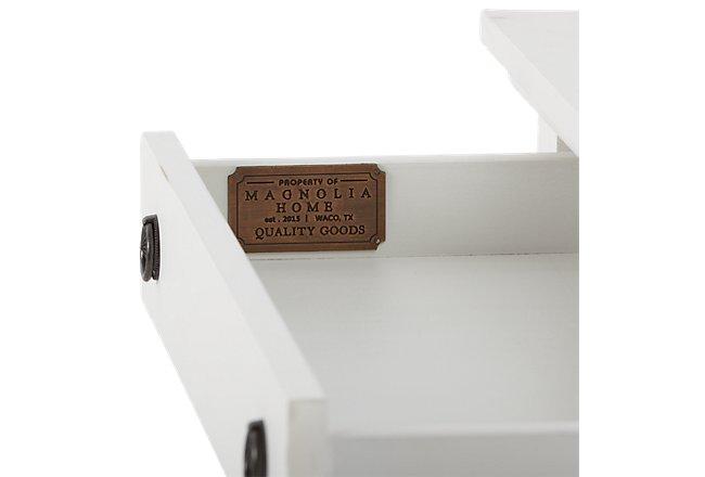 Silhouette White Wood Dresser