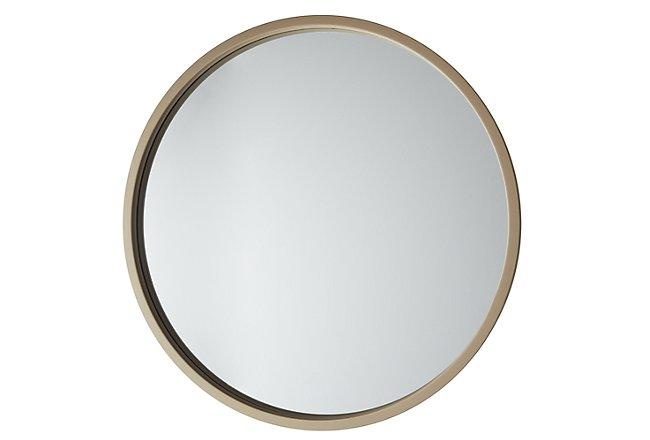 Era Gold Metal Mirror