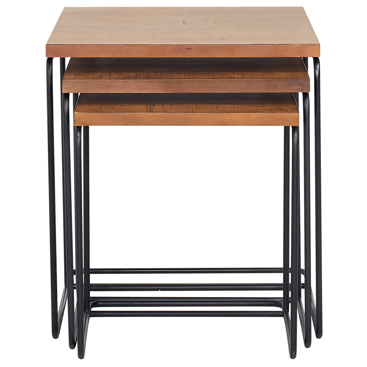 Traverse Light Tone Nesting Tables Bedroom Nightstands City Furniture