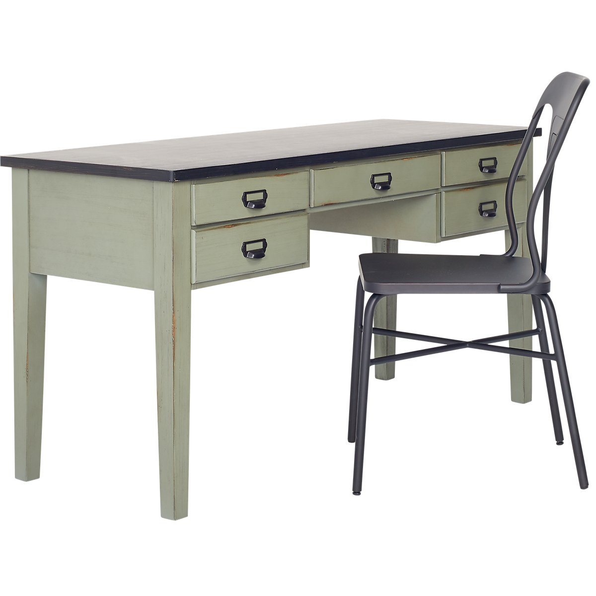 Library Two-Tone Desk
