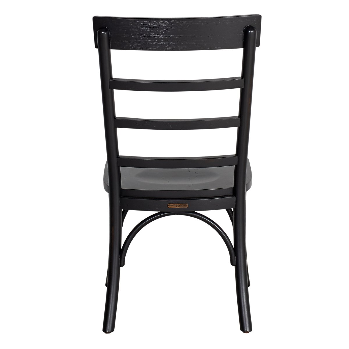 Harper Black Slat Side Chair