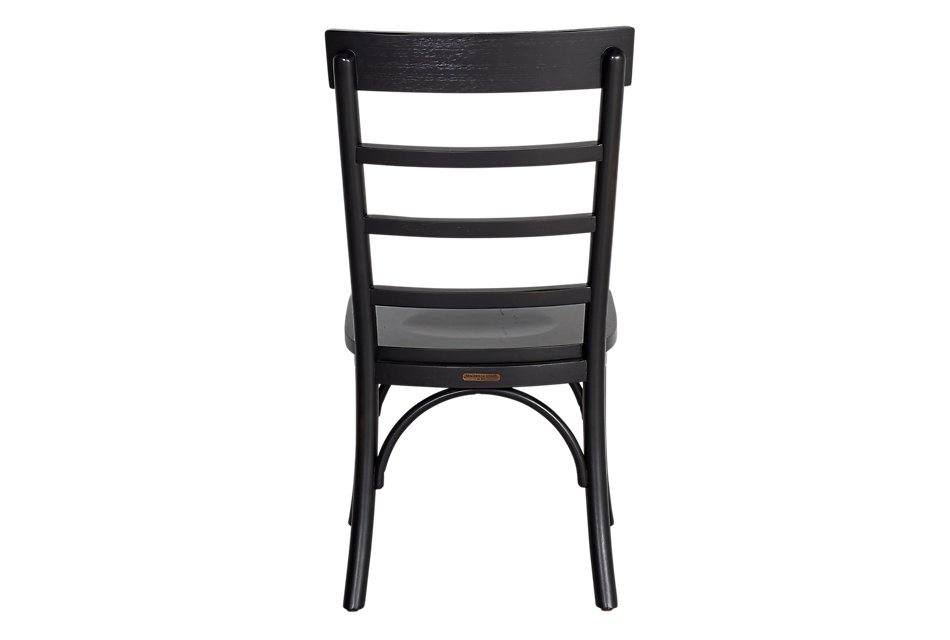 Harper Black  Slat Side Chair