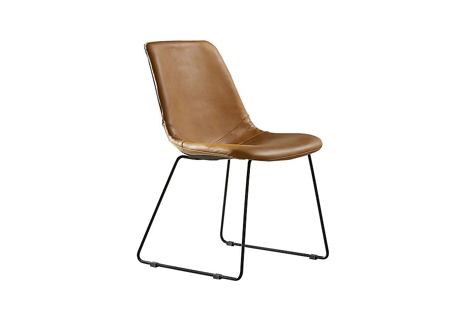Molded Brown  Desk Chair