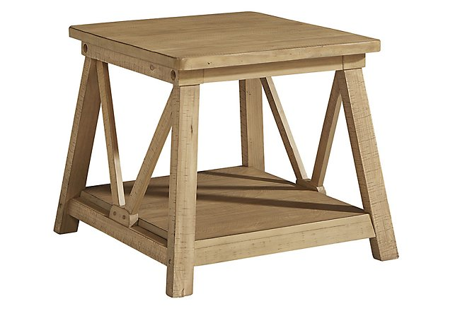 Joiners Light Tone End Table